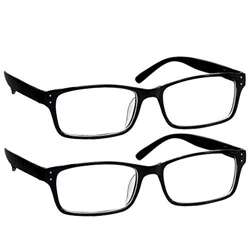 computer reading glasses walmarts Computer Reading Glasses – Computer Readers with Anti Blue Light, Anti UV, Anti-Glare, and are Anti Reflective - 2 Pk - 1.25
