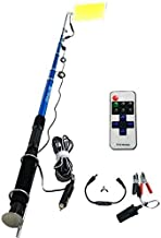 Multi-Function Fishing Rod LED Searchlight Bulb with Remote Control - 500W