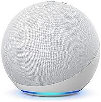 Echo (4ª Geração): Com som premium, hub de casa inteligente e Alexa - Cor Branca