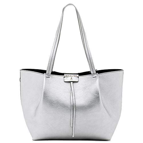 Patrizia Pepe City Shopper silber