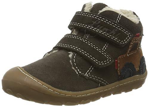 Lurchi Baby Jungen GORY Sneaker, Grün (Black Olive 26), 24 EU
