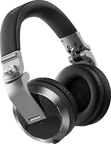 Pioneer DJ HDJ-X7-S Nuove Cuffie Over-Ear Professionali, Durata Superiore e Funzionalità Migliorate per Dj Professionisti, Grigio Argento