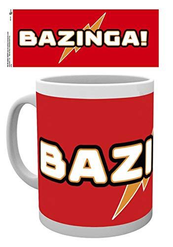 GB Eye Ltd, The Big Bang Theory, Bazinga, Mug, Bois, Plusieurs, 15 x 10 x 9 cm
