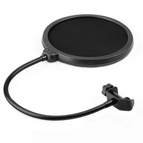 Microphone Studio Pop Filter - Double Layered...