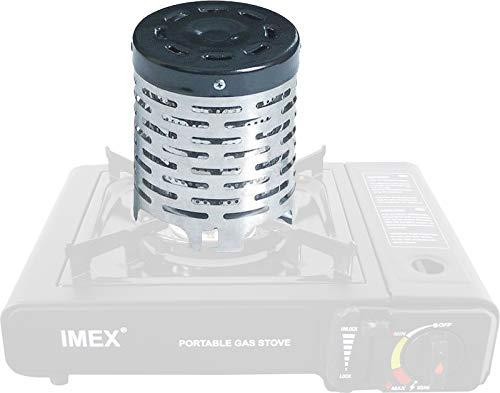 IMEX HEIZAUFSATZ für Gaskocher - Campingkocher in Gasheizung umwandeln - Smart & Easy Heater