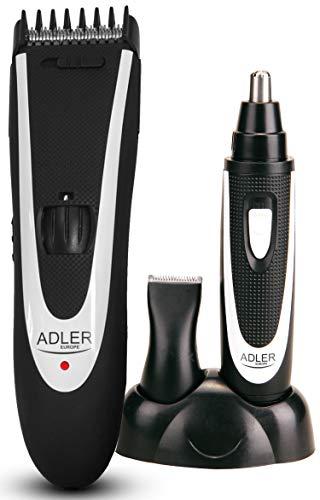 Akku Haarschneider | Haarschneidemaschine | inkl. Nasenhaartrimmer | 24 Schnittlängen | Ausdünnfunktion | Barttrimmer | Langhaarschneider | Trimmer | Haarscherer | Konturenschneider |