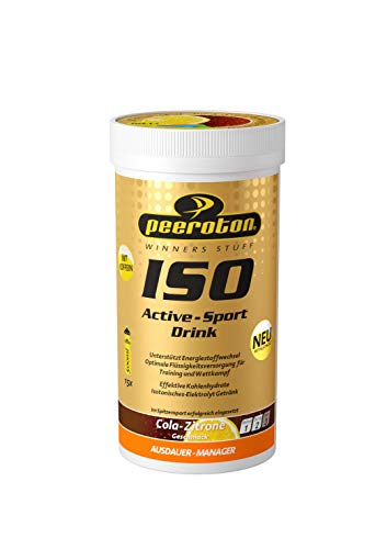 Peeroton ISO-Active- Sport Drink Cola-Zitrone 1er Pack (1 x 300 g)