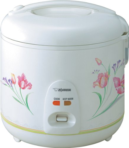 Zojirushi NSRNC18FZ Automatic Electric Rice Cooker and Warmer 10-Cup / 1.8-Liter, Spring Bouquet