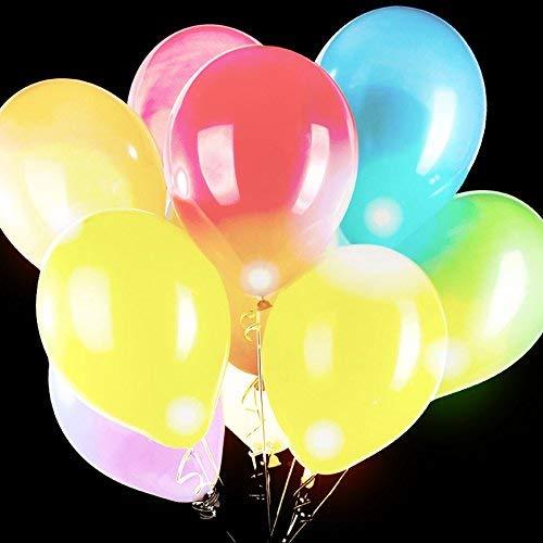 Fun Central LED Balloons, 5 Piece