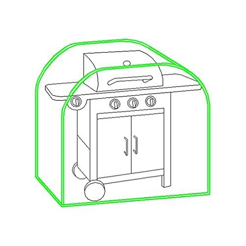 Grillabdeckung Grillplane UV-beständige & Wasserfest Abdeckung BBQ Cover für Grill Gasgrill Abdeckhaube BBQ JLA1127