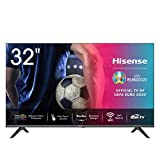 Hisense HD TV 2020 32AE5500F - Smart TV Resolución HD, Natural Color Enhancer, Dolby Audio, Vidaa U 2.5, HDMI, USB,...