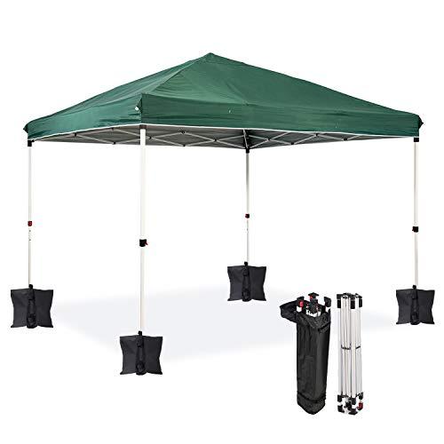 Dawsons Living Waterproof Premium One Touch Garden Gazebo - Choice of Colours - 3m x 3m Heavy Duty Pop Up Outdoor Garden...