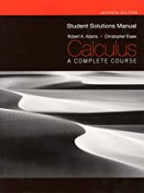 Best calculus a complete course 7th edition solutions manual Reviews