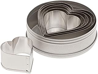Best ateco graduated heart cookie cutters set of 6 Reviews