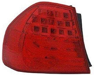 Go-Parts - for 2009 - 2011 BMW 335i Rear Tail Light Lamp Assembly Housing / Lens / Cover - Left (Driver) Side - (E90 Body Code; Sedan) 63 21 7 289 429 BM2818114 Replacement 2010