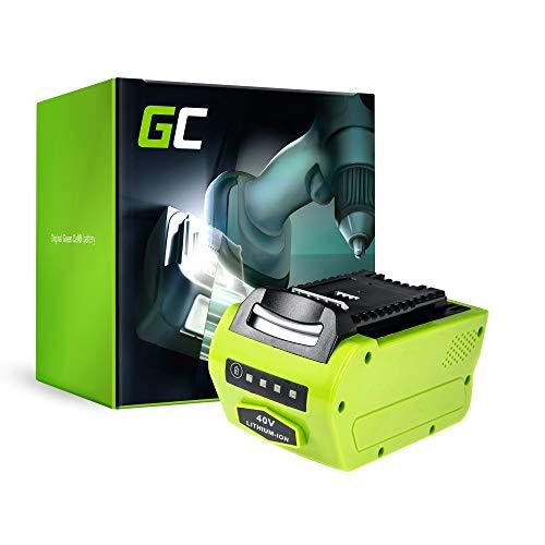 GC® (4Ah 40V Li-Ion Samsung Zellen) Akku für GreenWorks ST40B410 Werkzeug, Gartengeräte Ersatzakku