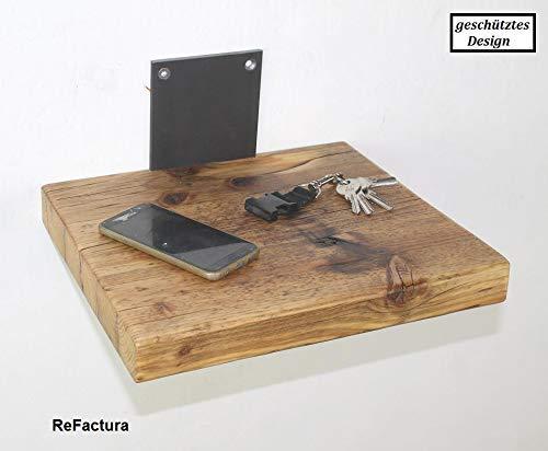 Wandregal aus Altholz, Küchenregal aus Holz, Badregal aus Holz, Wandboard