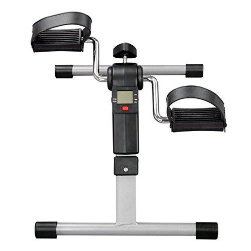 41ybesJchNL - Mini Bicicleta Estática Plegable Máquina Pedalear Manos Piernas Rehabilitación