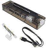 TOOGOO Nuevo Pcie Pci-E Pci Tarjeta de Video Externa Independiente para Ordenador Porttil Tarjeta Dock Express Versin Pci-E para V8.0 Exp Gdc