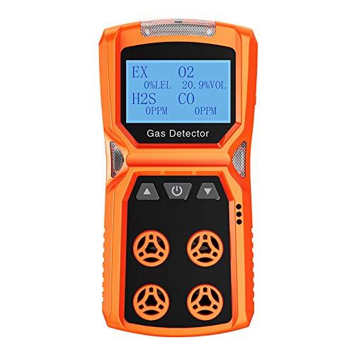 LLC-POWER Multi Detector De Gas 4 En El Monitor Detector 1 Alarma...