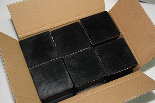 Gummiauflage 63x63x40mm (Karton mit 12 Stück) für Wagenheber und Hebebühnen