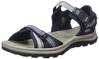 KEEN Women s Terradora 2 Open Toe Sandal-W Sport Navy/Light Blue 8.5