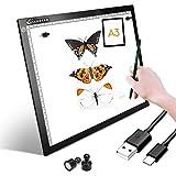 Pannello portadocumenti a LED, formato A3, super sottile, per disegnare, tracciare il tavolo cavo USB con luminosità regolabile per artisti animazione disegno animazione visualizzazione a raggi X A3