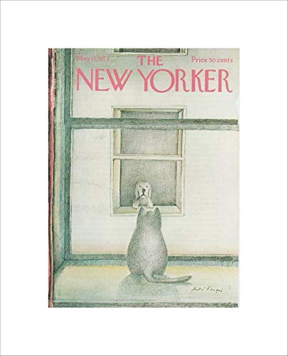 Vintage The New Yorker Cover Magazine Poster Print Gifts for Lovers Poster Poster Home Art Wall Posters [No Framed]
