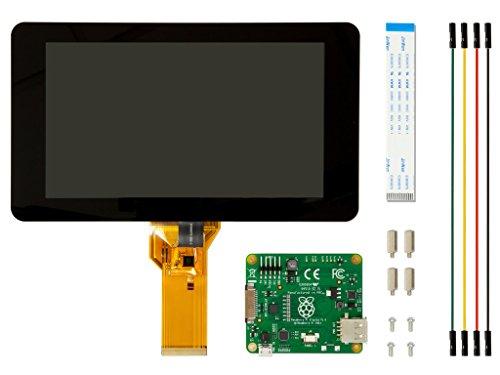 "Raspberry Pi 公式 7"" タッチスクリーン LCD Element14"