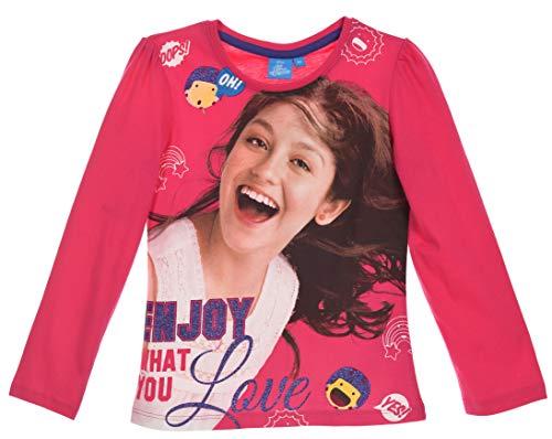 Disney Soy Luna Langarmshirt (12 Jahre, Fuchsia)