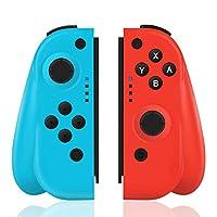 """【Design della console Nintendo Switch】 -Questo controller di gioco professionale wireless è compatibile con Nintendo Switch. * Se aggiorni la console Switch alla versione """"10.0"""", il pulsante SL SR sul controller sinistro non funzionerà, non ti preocc..."""
