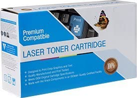 2 Pack of Compatible Black Toners Replacement for HP 125A, CB540A, Color Laserjet CM1312 / CM1312MFP / CM1312NFI / CP1210 / CP1215 / CP1510 / CP1515N / CP1518NI