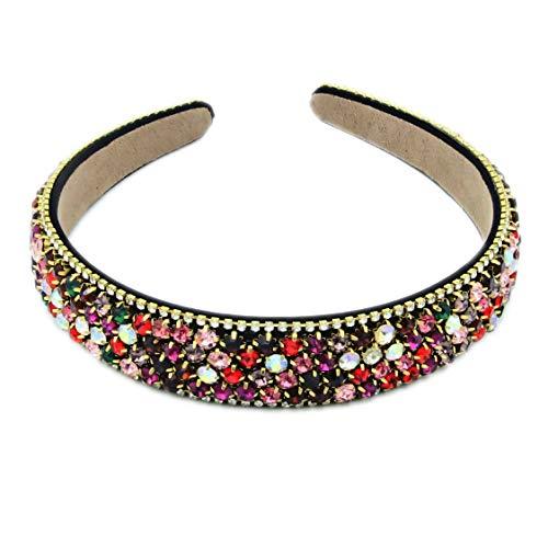 Nanxin Strass Kristall Haarband Haarreife Stirnbänder für Frauen Damen