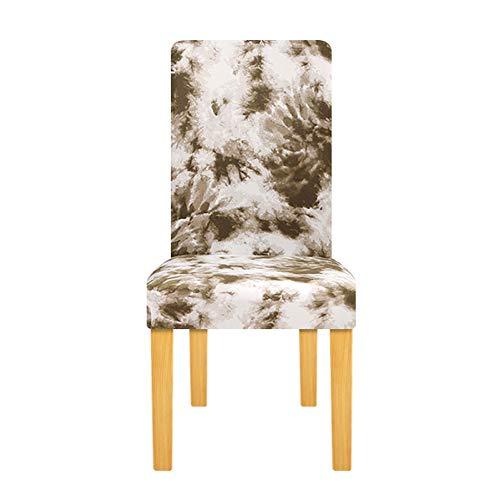 Tayinio Stoelhoes, geometrisch, elastisch, universele maat, bureaustoel, decoratie voor stoelhoezen