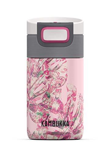 Kambukka Etna termo - 300 ML - Monstera Leaves - 3 in 1 lid - Snapclean® technology