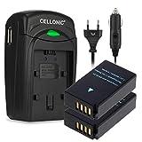 CELLONIC 2X Batterie Compatible avec Nikon 1 AW1 J1 J2 J3 1 S1 1 V3 CoolPix P1000 A...