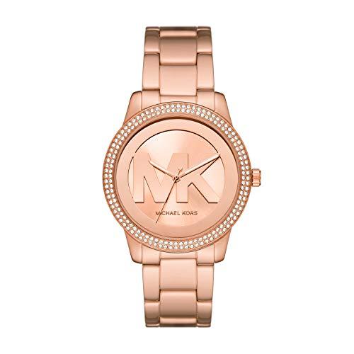 Michael Kors Women's Tibby Three-Hand Rose Gold-Tone Stainless Steel Watch MK6880