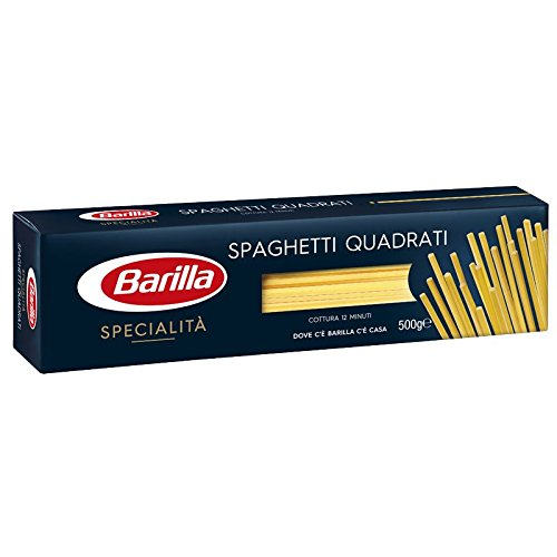 10x Pasta Barilla Specialità spaghetti quadrati italienisch Nudeln 500 g pack