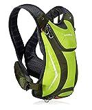 Outdoor Bag Ejecución de la hidratación mochila mochila impermeable de agua de la vejiga 5L camping, mochilas de senderismo Deporte hidratante ciclismo transpirable para los hombres Travel-green-On