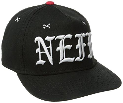 NEFF Snooper Caps Casquette Mixte Adulte, Noir, FR : (Taille Fabricant : Adjustable)