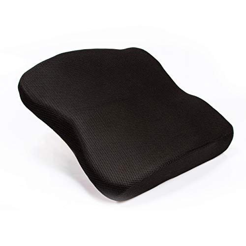 Medi Body Premium Rückenkissen mit Befestigungsgurt - Lendenkissen - Perfekter Sitzkomfort - Stützkissen für Lendenwirbel für Büro, Auto und Homeoffice - Lendekissen