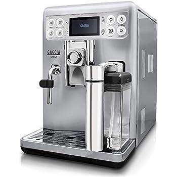 Gaggia RI9700/60 - Cafetera (Independiente, Máquina espresso, 1,5 L, Granos de café, De café molido, Molinillo integrado, Plata, Acero inoxidable): Amazon.es: Hogar