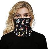 WWJJLL Digital Printing Nahtlose Kopftuch, Sport im Freien Breathable Oberflächenschutz Multi-Purpose-magischen Kopftuchs Neckband Stirnband 2ST