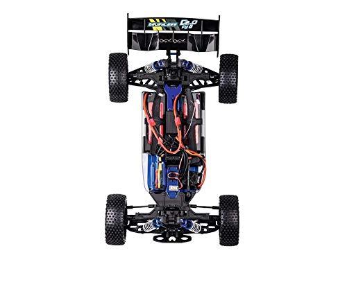 RC Auto kaufen Buggy Bild 4: Carson 500409092 500409092-1:8 FY8 Buggy Destroyer 2.0 4S RTR, Ferngesteuertes Auto, RC-Fahrzeug, inkl. Batterien und Fernsteuerung, schwarz*