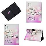 Jajacase Hülle für iPad 9.7 Zoll 2017/2018 - PU Leder,Kratzfeste Schutzhülle Cover Hülle Tasche mit Standfunktion,Rosa Brief