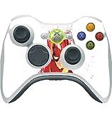 Comic Book Hero Watercolor Design Vinyl Decal Sticker Skin by egeek amz for Xbox 360 Wireless Controller