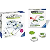 Ravensburger Gravitrax Starter Set Marble Run & STEM Toy For Kids Age 8 & Up - Endless Indoor Activity for Families & Gravitrax Trampoline Accessory - Marble Run & STEM Toy for Boys & Girls Age 8 & Up