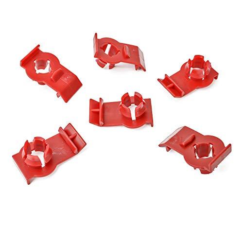 1x Fensterheber Reparatur Clip | Rot | 51338218383