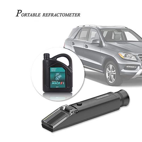 OCS.tec Refraktometer Handrefraktometer Frostschutz (Äthylen- & Propylene-Glykol.) Solar- & Heizungsanlage, Batterie, Maschinen RK2