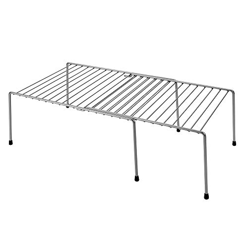 Metaltex Adapto Estante Extensible, Plata, 57/33x24x15